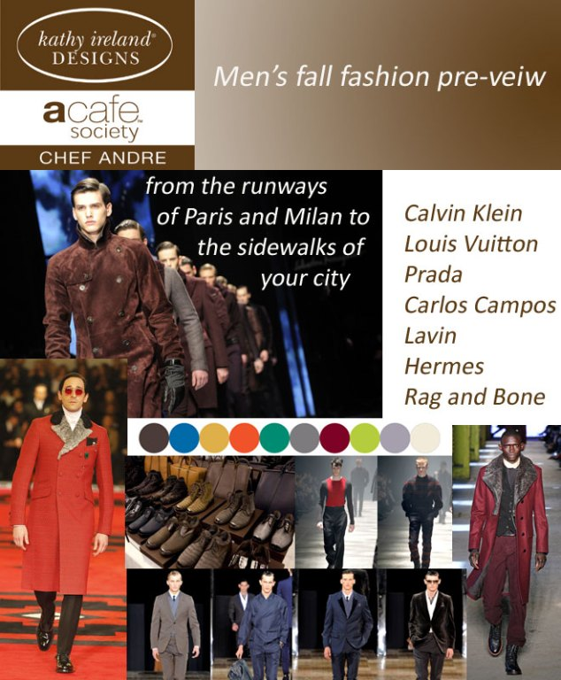 Men's Fall Fashion Pre-view